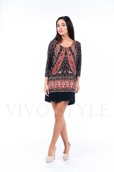 Платье с удлиненной спинкой 26122-1
