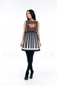 Платье с лилиями 26132-1