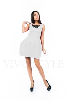 Платье с набивным рисунком 26140-3