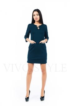 Полуприлегающее платье 26142-3