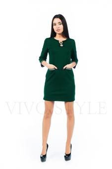 Полуприлегающее платье 26142-2