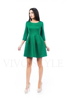 Платье с набивным рисунком 26143-1