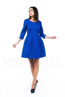 Платье с набивным рисунком 26143-2
