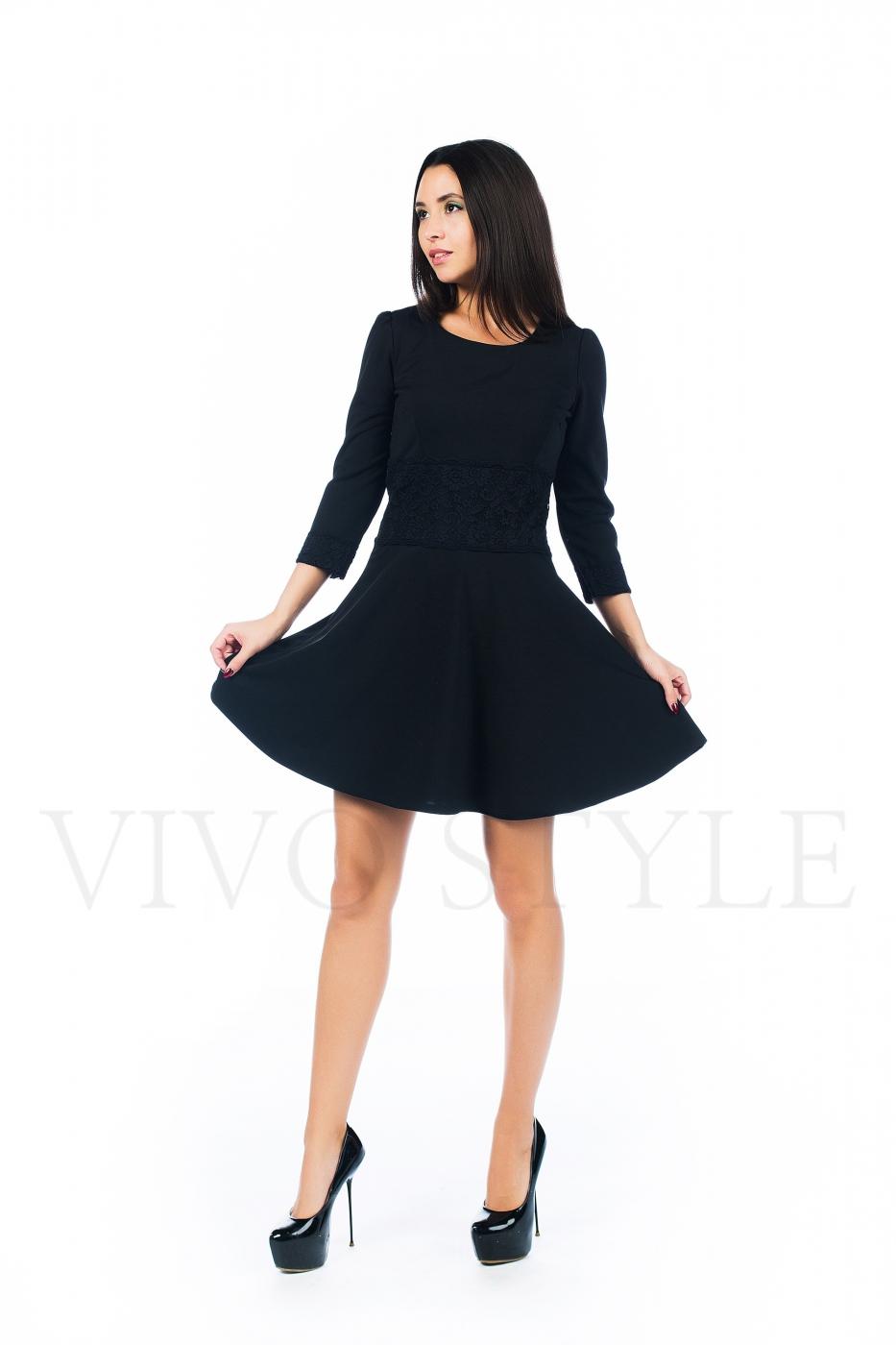 Платье с набивным рисунком
