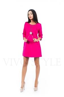 Удобное платье с рукавом 26145-1