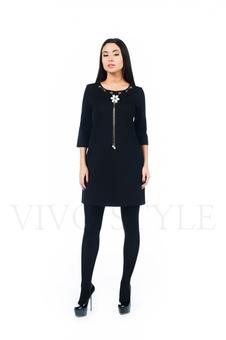 Удобное платье с рукавом 26145-2