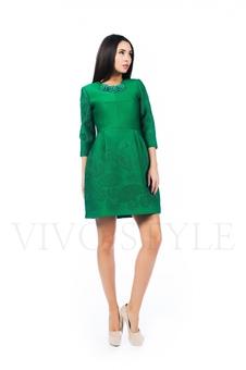 Платье со стоячей юбкой 26147-1