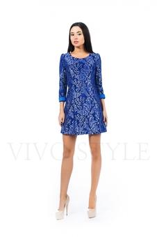 Короткое женское платье 26149-1