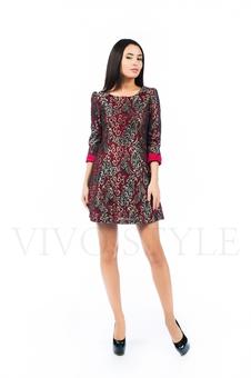 Короткое женское платье 26149-2