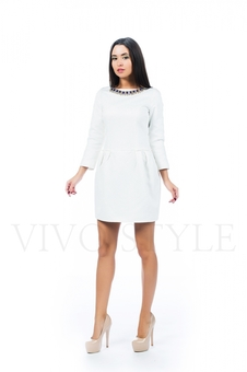 Платье с укороченным рукавом 26150-1