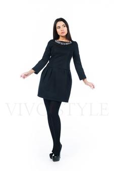 Платье с укороченным рукавом 26150-2