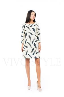 Платье простое