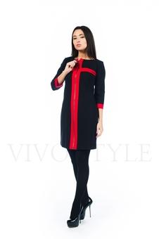 Повседневное платье с рукавом три четверти 26155-1