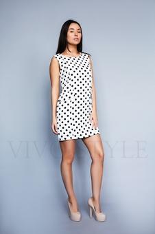Платье в горошек 26184-1