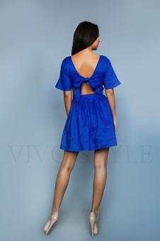Коктейльное женское платье 26205-1