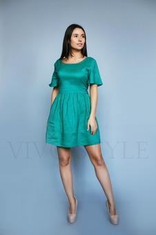 Коктейльное женское платье 26205-2