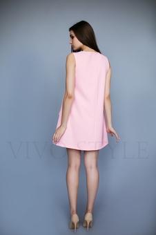 Женское короткое платье 26207-1