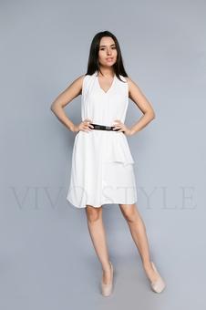 Женское платье длиной чуть выше колена 26210-2