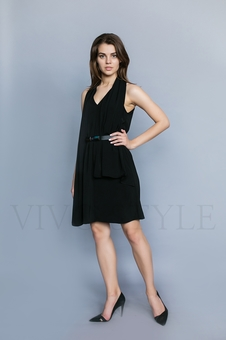 Женское платье длиной чуть выше колена 26210-3