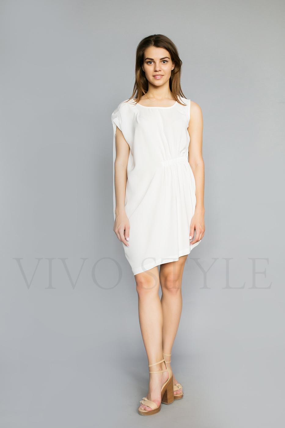 Женское платье с кулисой
