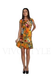 Платье с рельефами