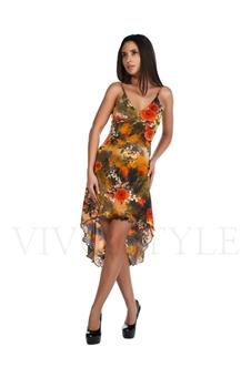 Платье с красивым декольте 20145-4