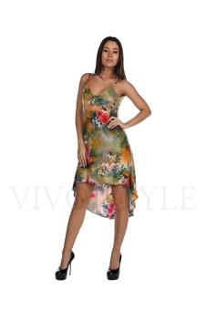 Платье с красивым декольте 20145-2