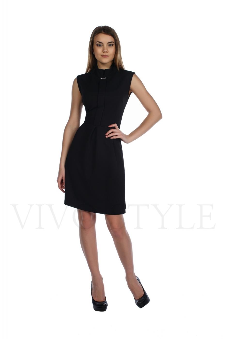 Платье классическое до колена