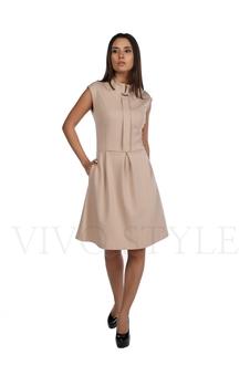 Платье классическое до колена 20180-2