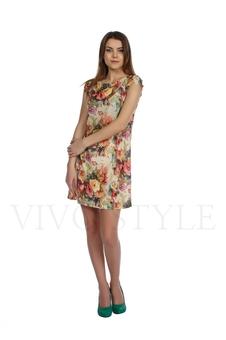 Платье с цельнокроеным рукавом с доставкой
