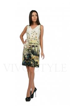 Платье с красивым рисунком