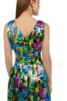 Яркое летнее платье 20216-1