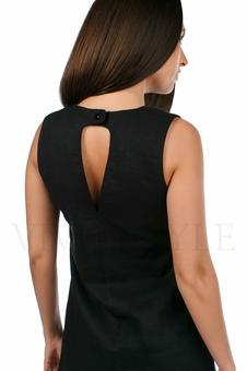 Практичное повседневноеплатье лён 20549-1