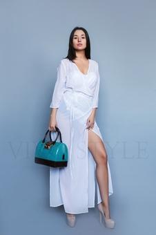 Двухцветная женская сумка 56006-1