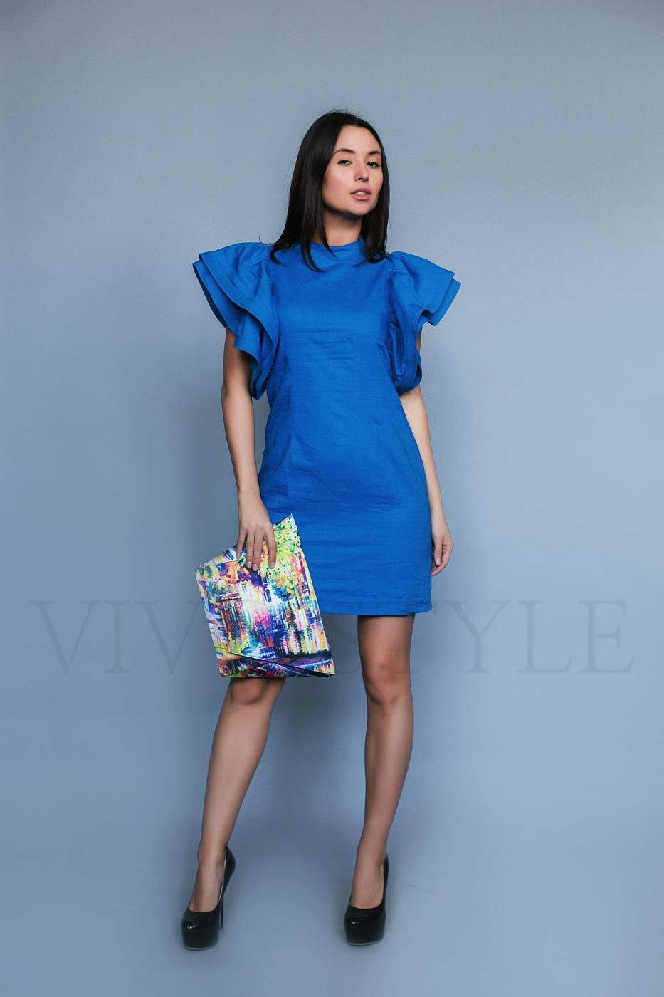 Разноцветная стильная сумка