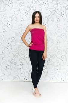 Модный и стильный топ 10063-5