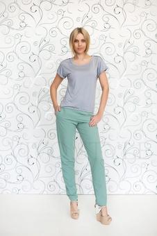 Блуза с коротким рукавом 10138-6