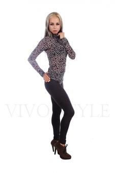 Свитер и свитшот расцветка леопард